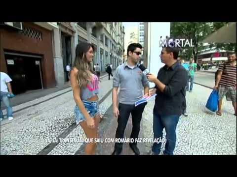 Transexual que saiu com Romário ex Jogador thumbnail