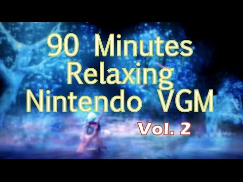 90 Minutes of Relaxing Nintendo Video Game Music (Vol. 2)