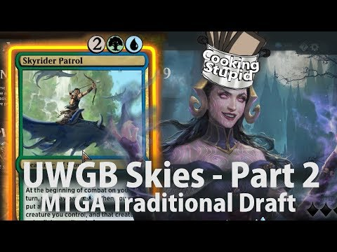UWGB Skies Part 2: Evasion - MTGA Core Set 2019 Draft - YouTube