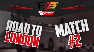 Road to London : Match #2 | fabE vs. cX | S&D Recovery | FAB Games eSports