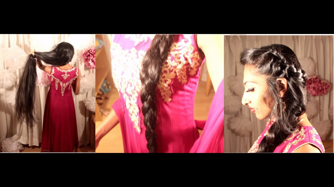 Anarkali Suit Hairstyle Hairstyle For Churidar Wedding Hairstyle