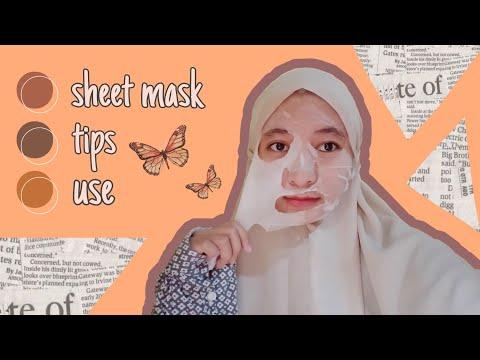 9 FACTS ABOUT SHEET MASK    Cara Menggunakan Sheet Mask Yang Benar
