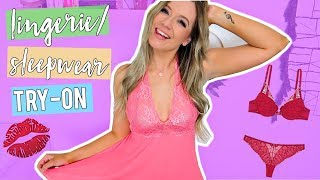 LINGERIE/SLEEPWEAR TRY-ON HAUL!