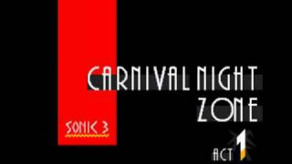 Sonic 3 Music: Carnival Night Zone Act 1 [extended]