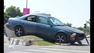 Most of the accidents in Abuja happens at the junction.