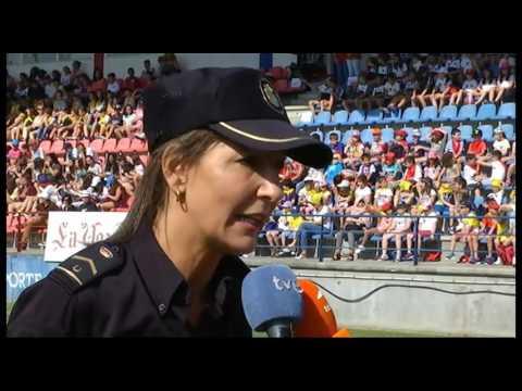 ACTO EXHIBICIÓN POLICÍA NACIONAL EN OURENSE
