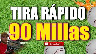 Throw 90 Millas Pitcher Como Tirar a 90 Millas en 90 días