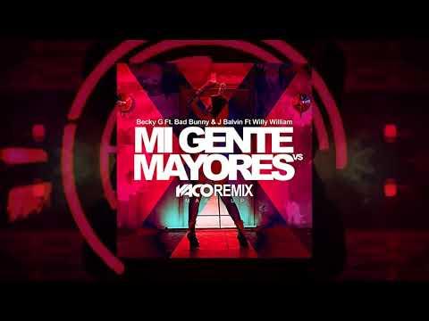 Mi Gente VS Mayores YACO DJ REMIX MASH UP