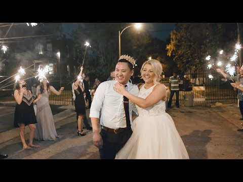 Rooftop Wedding in St. Louis, Missouri // Jess & Duy