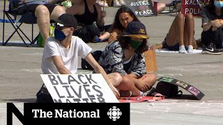 Protesters Call For Changes To Policing In Toronto, Montreal
