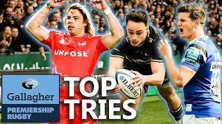 Top Tries | Rounds 10-15 | Gallagher Premiership