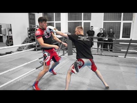 КМС по ММА против МСМК по боксу / Боксер удивил
