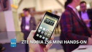 zTE Nubia Z5S Mini Hands On - MWC 2014  Pocketnow