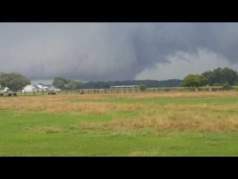 EF3 Tornado - Part 2 Fort Wayne, Indiana 8/24/2016