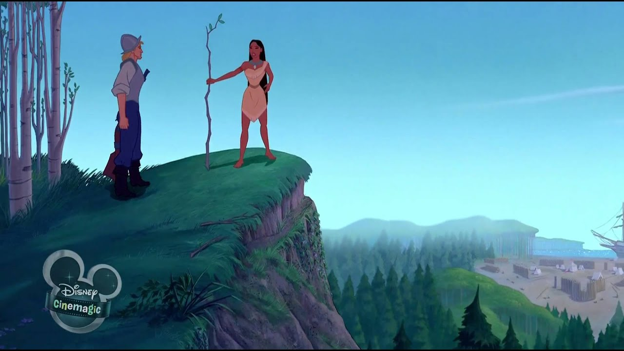 Pocahontas Farbenspiel Des Winds