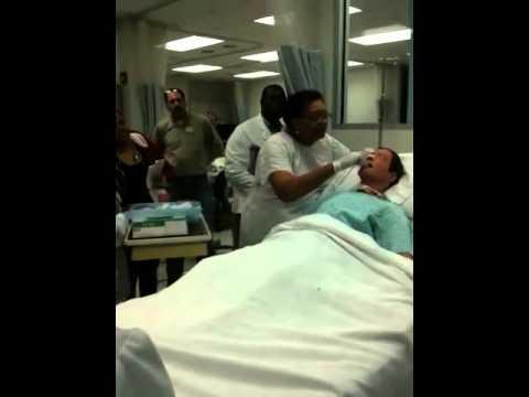 NG tube care part 2 - YouTube