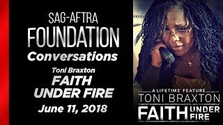 Conversations with Toni Braxton of FAITH UNDER FIRE