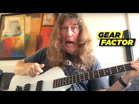 Raven's John Gallagher Plays His Favorite Riffs on Custom 8-String Bass