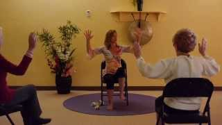 Foot Stomping Fun! Chair Yoga for Healthy Legs with Sherry Zak Morris