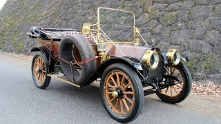 Test Drive: 1912 Buick Model 29 Touring. Charvet Classic Cars.