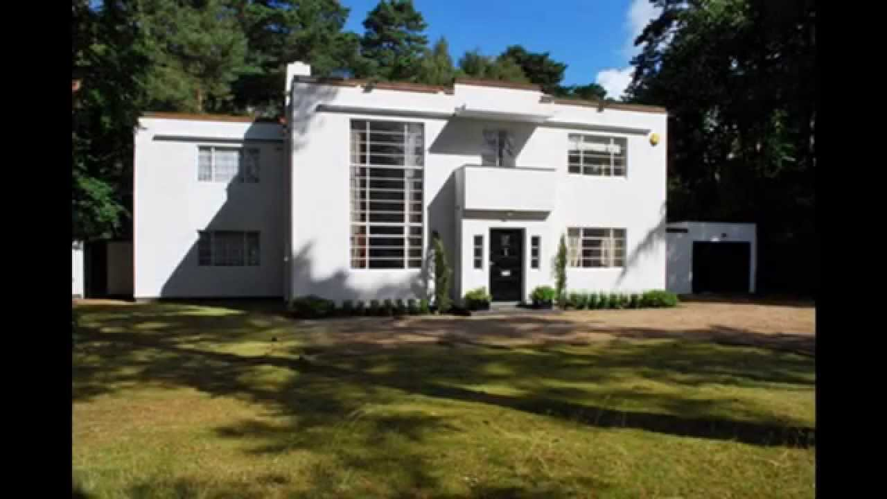 Art deco house design - YouTube