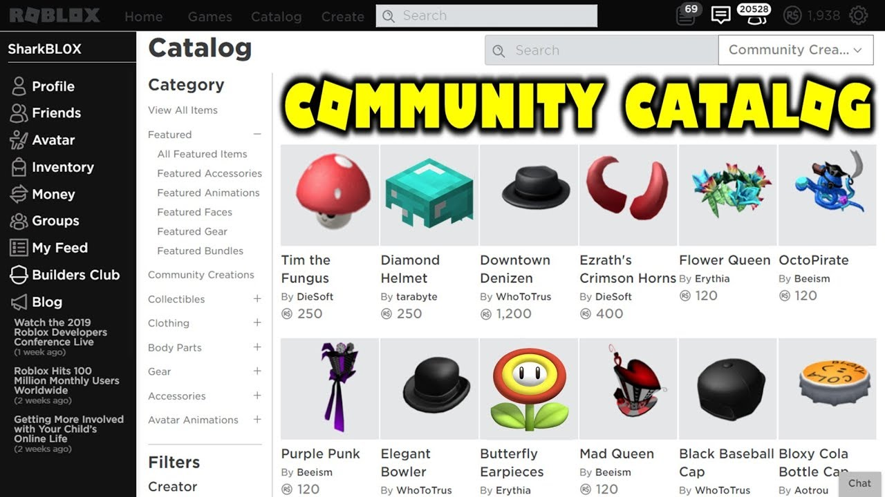 Buying Hats From The User Generated Catalog Roblox Ugc - try the catalog roblox
