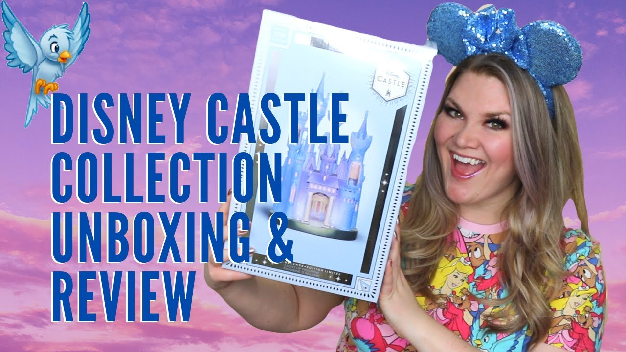 Disney Castle Collection Cinderella S Castle Unboxing Review Youtube