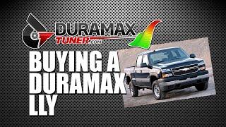 BUYING A DURAMAX LLY