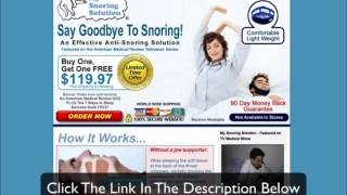 My Snoring Solution Bogo - Stop Snoring Naturally