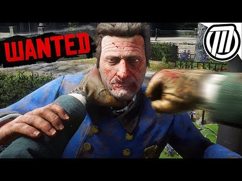 Red Dead Redemption 2: WANTED DEAD OR ALIVE SURVIVAL! - Free-Roam Gameplay