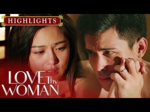 Jia At David, Nadala Ng Emosyon Sa Isa't Isa | Love Thy Woman (With Eng Subs)