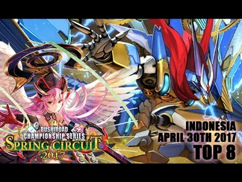 Cardfight!! Vanguard BCS 2017 Spring - Indonesia - Top 8 - Angel Feather vs Gear Chronicle