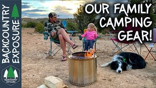 Our Family Car Camping Essential Gear Items