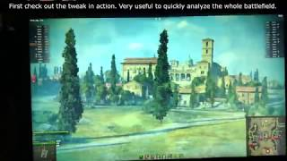 Gambar cover World of Tanks - Mouse Scroll Sensitivity Tweak/Hack - quickly analyze the battlefield!