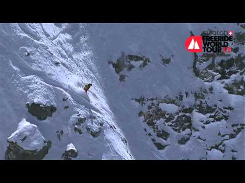 Jonathan Charlet -- 1st place Men Snowboard Swatch FWT Xtreme Verbier 2012