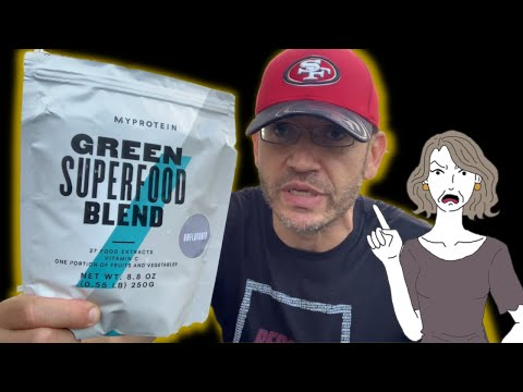 Your Mother Was Right! | Myprotein Green SUPERFOOD review