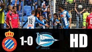 Video Gol Pertandingan Espanyol vs Deportivo Alaves