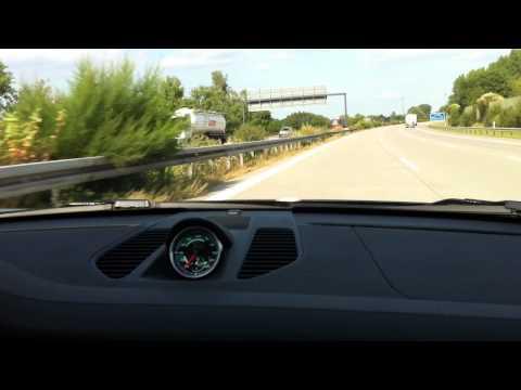 Porsche Carrera S -  Autoban 289 km
