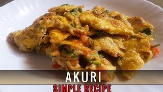 AKURI/INDION BREAKFAST RECIPE| BY STUNNING FOOD RECIPES