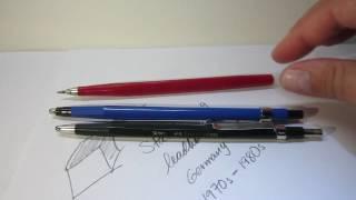 1970s Stabilo 8-9 2mm leadholder/clutch pencil Review