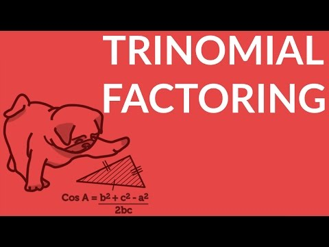 ʕ•ᴥ•ʔ Simple Method for Trinomial Factoring in Algebra: ax2+bc+c