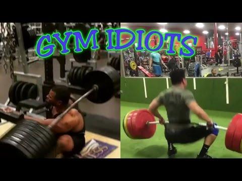 Gym Idiots - Heavy Squat and Clean Fails