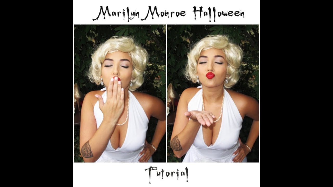 Marilyn monroe halloween makeup tutorial youtube marilyn monroe halloween makeup tutorial baditri Images