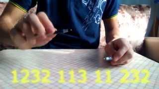 Урок для начинающих # 1 : Pen Tapping : БИТ БОКС РУЧКОЙ :