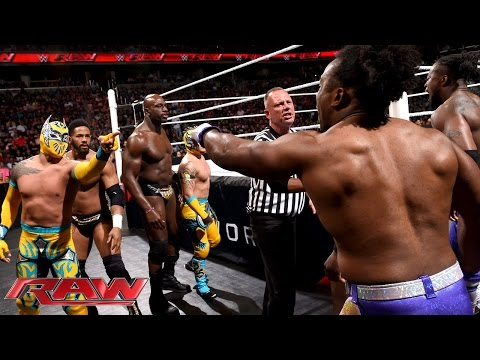 The Prime Time Players & The Lucha Dragons vs. The New Day & Bo Dallas: Raw, June 29, 2015