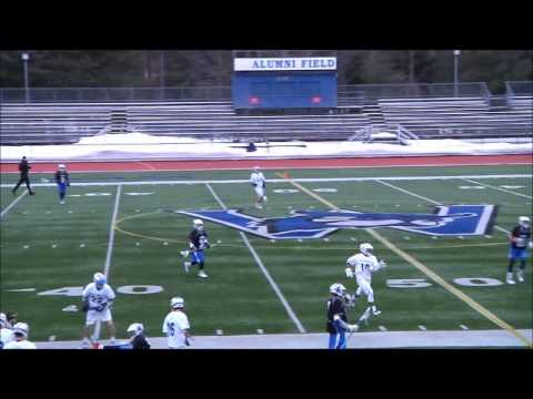Westfield State vs  Central Connecticut Lacrosse Footage