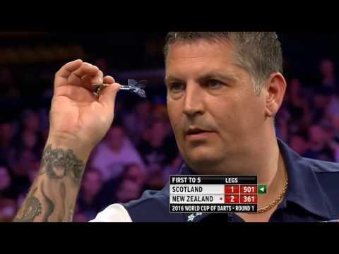 Scotland v New Zealand ᴴᴰ 2016 World Cup of Darts | Round 1