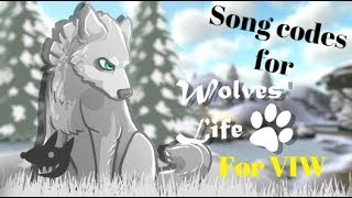 Wolves Life 3 Roblox | Song Codes for VIW PART 3