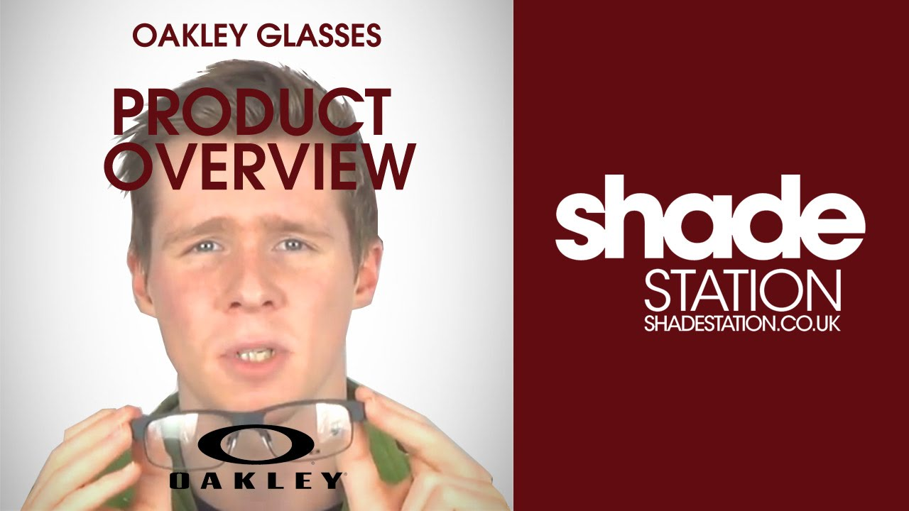 d389819cb3a Oakley Glasses Video Product Overview