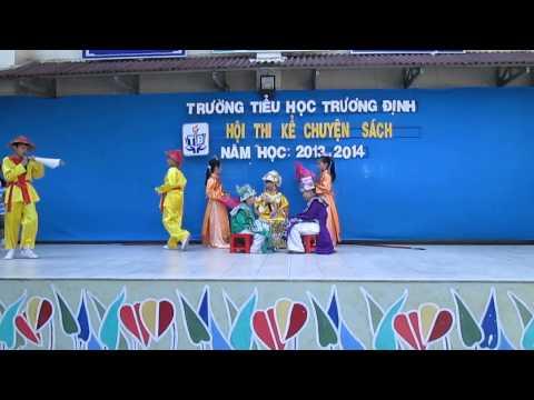 Hội thi kể chuyện sách - Trường tiểu học Trương Định 2013 - 2014